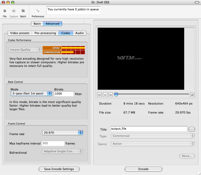 Dr. DivX for Mac Screenshot 4