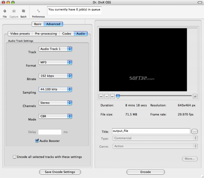 Dr. DivX for Mac Screenshot 5