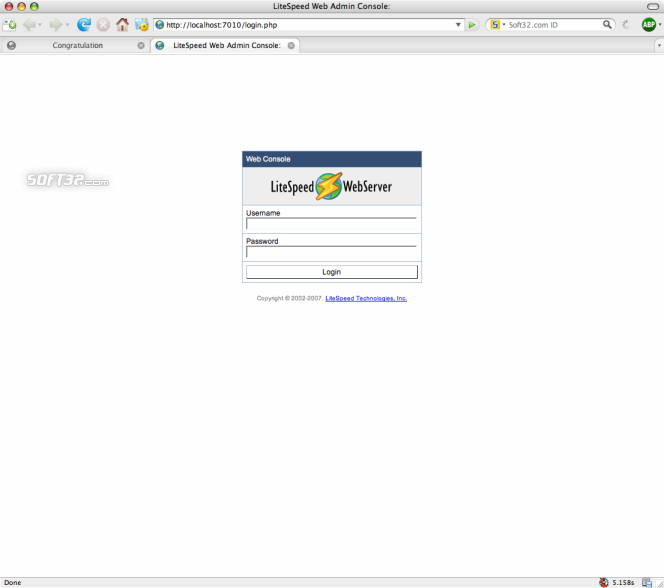 LiteSpeed Web Server Screenshot 3
