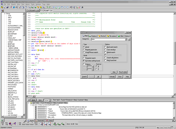 Multi-Edit 2008 Lite Screenshot