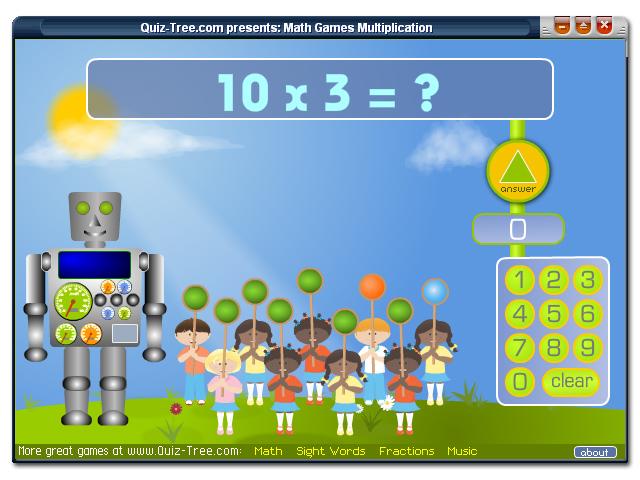 Math Games Multiplication Screenshot 1