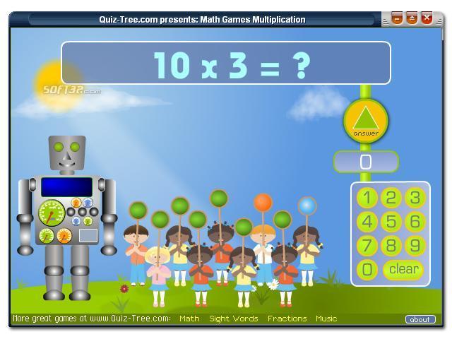 Math Games Multiplication Screenshot 3