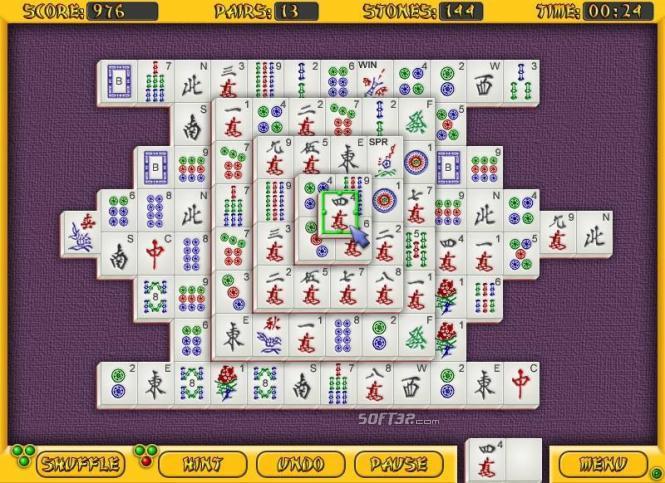 All-Time Mahjongg Screenshot 3