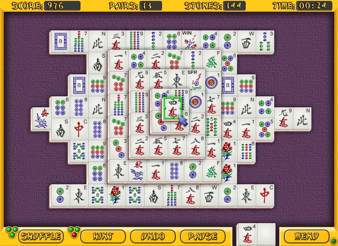 All-Time Mahjongg Screenshot 1