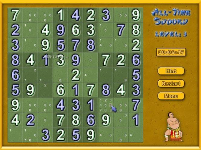 All-Time Sudoku Screenshot 3