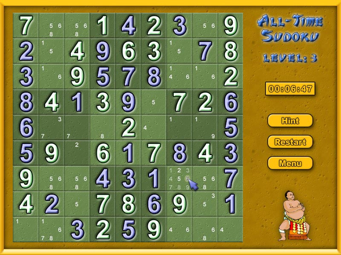 All-Time Sudoku Screenshot 2