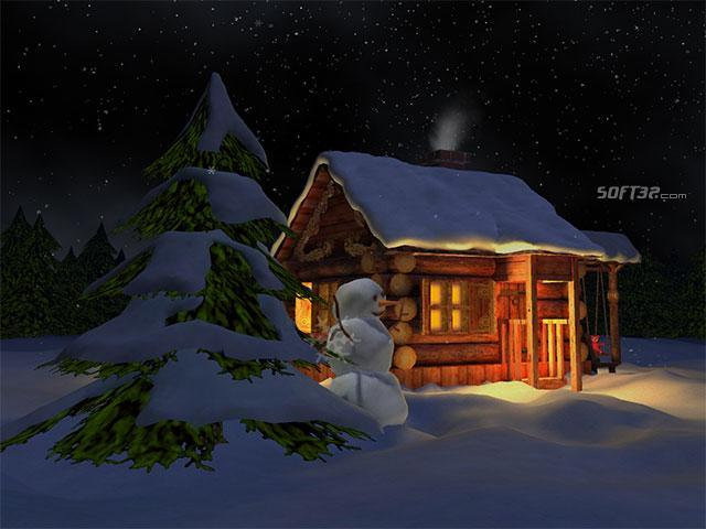 3D Mild Winter Screensaver Screenshot 3