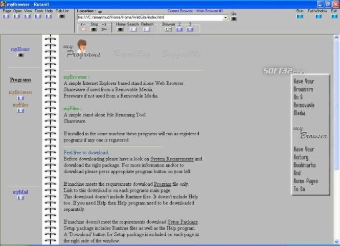 myBrowser Screenshot 3