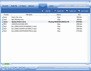 Super Audio Grabber Pro Screenshot
