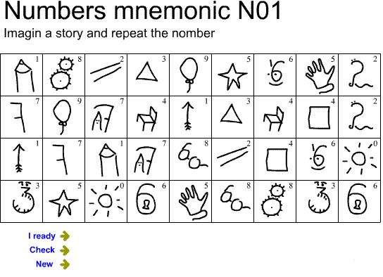 Digits memory 01 Screenshot 3