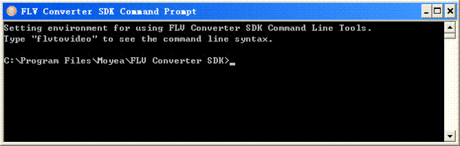Moyea FLV Converter SDK Screenshot 1