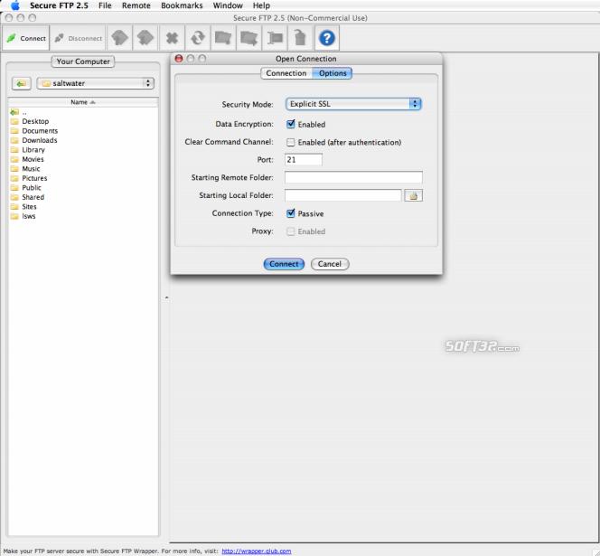 Secure FTP Screenshot 2