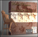 3DVirtual Figure Drawing Studio (Female) Screenshot 1