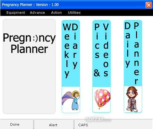 Pregnacy Planner Screenshot 1