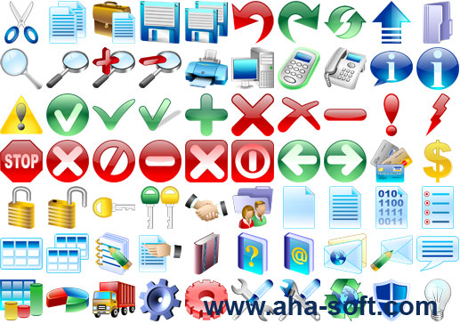 Basic Icons for Vista Screenshot 1