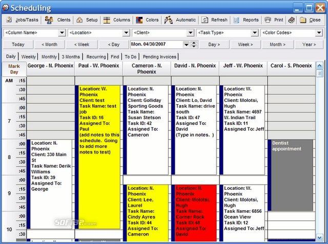 ScheduleEZ PRO Screenshot 1
