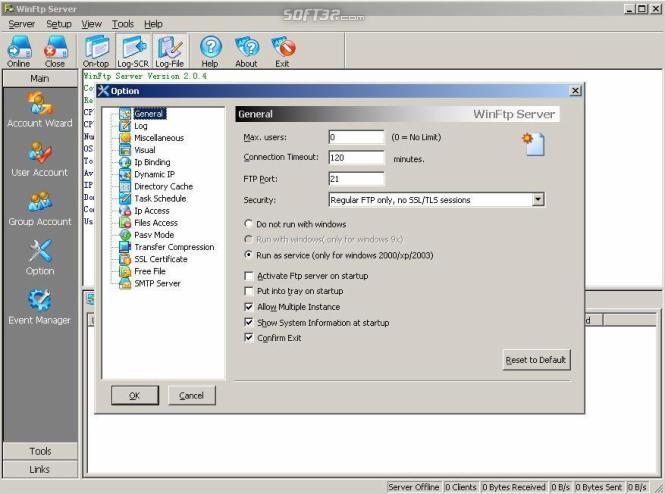 Win Ftp Server Pro Screenshot 3