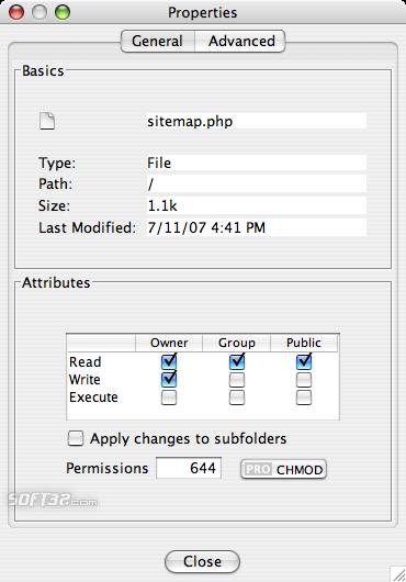 CrossFTP Client Screenshot 2