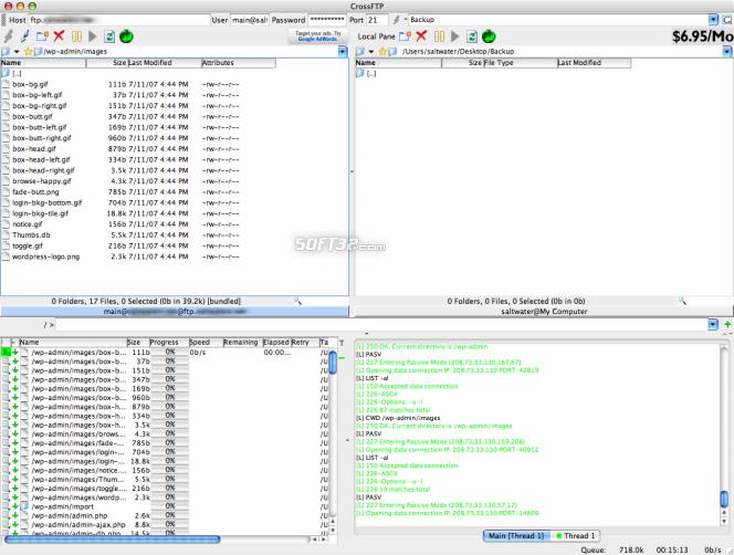CrossFTP Client Screenshot 3