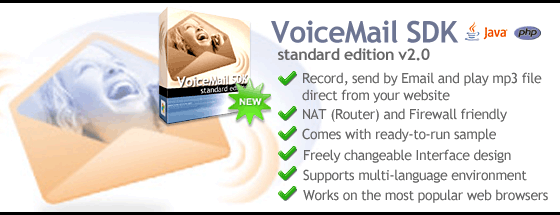 conaito Mp3 Voice Recording Applet SDK Screenshot