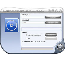 Fox DVD to iPod/MP4 Video Rip/Convert Solution Screenshot