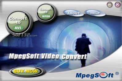MpegSoft Video Convert Screenshot