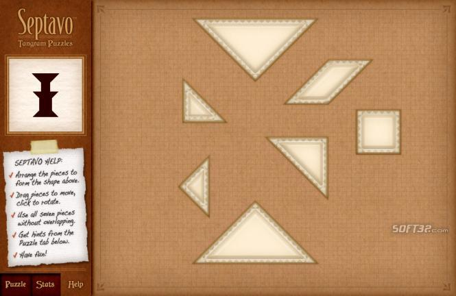 Septavo Tangram Screenshot 2