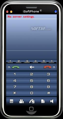 iSoftPhone Screenshot