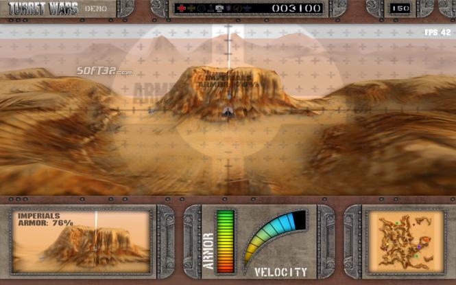 Turret Wars Retro (was TurretWars) Screenshot