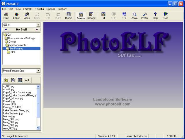 PhotoELF Screenshot 3
