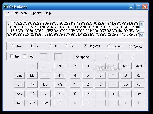 GMBA Calculator Screenshot 1