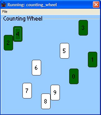 Counting Wheel ppc 1.1 Screenshot