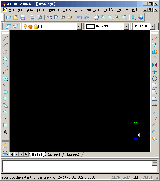 AXCAD Screenshot