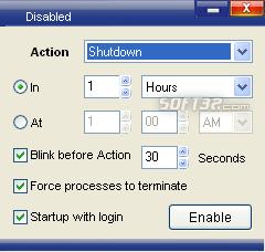 Good Night PC Shutdown Screenshot 3