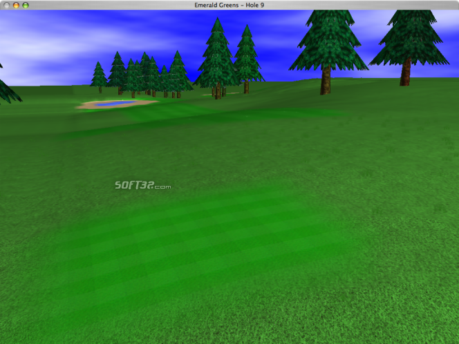 GL Golf Screenshot