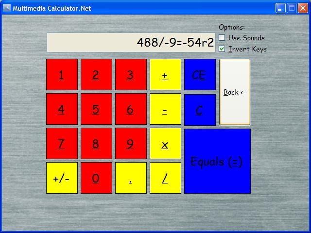 Multimedia Calculator.Net Screenshot 1