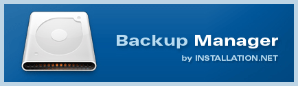 Backup Manager Screenshot