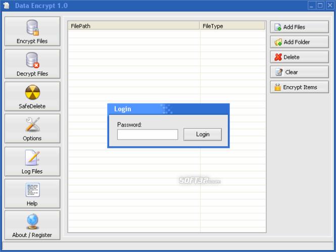 Data Encrypter Screenshot 2