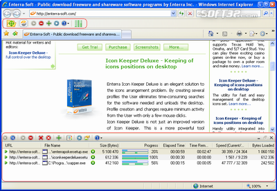 Enterra Download Manager Screenshot 3