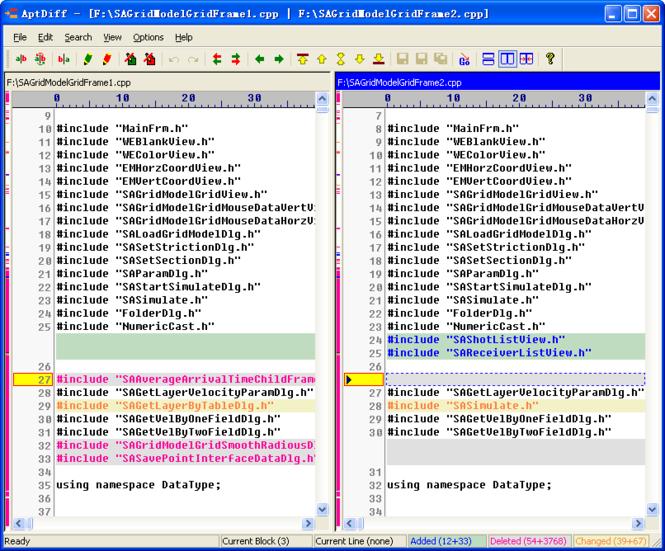 AptDiff Screenshot