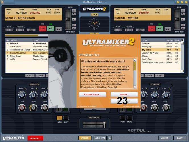 UltraMixer Professional Screenshot 3