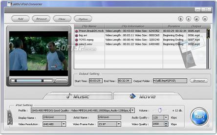 Alldj iPod Video Converter Screenshot 3