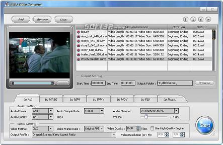 Alldj Video Converter Screenshot 1