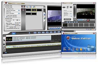 SuperDVD Video Editor Screenshot 1