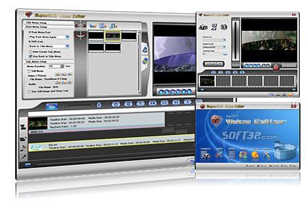 SuperDVD Video Editor Screenshot 3