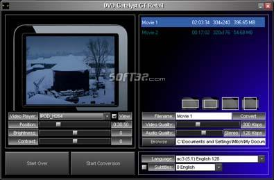 DVD Catalyst GT Screenshot