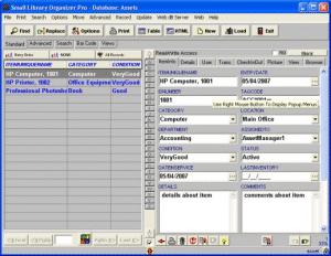 Asset Organizer Deluxe Screenshot