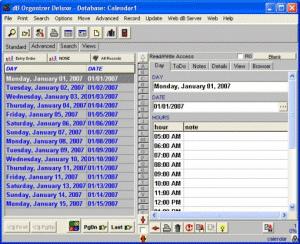 Calendar Organizer Deluxe Screenshot
