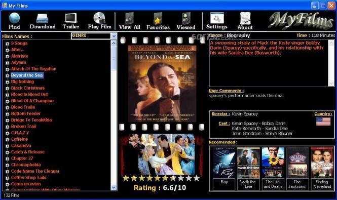 MyFilms Screenshot 2