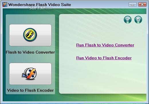 Wondershare Flash Video Suite Screenshot 1